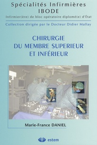 Marie-France Daniel - Chirurgie du membre supérieur et inférieur.