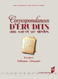 Histoiresdenlire.be Correspondances d'érudits au XVIIIe et XIXe siècles - France, Pologne, Lituanie Image