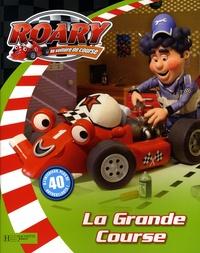 Marie-France Floury - La grande course - Livre d'autocollants.