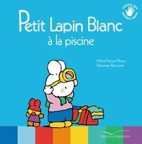 Marie-France Floury - Petit Lapin Blanc à la piscine.