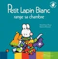 Marie-France Floury et Fabienne Boisnard - Petit Lapin Blanc  : Petit Lapin Blanc range sa chambre.