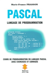 Pascal. Langage de programmation - Marie-France Frasson | Showmesound.org