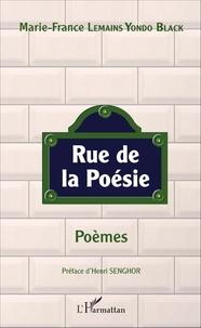 Marie-France Lemains Yondo Black - Rue de la poésie.