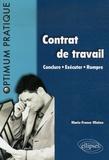 Marie-France Mialon - Contrat de travail - Conclure-Exécuter-Rompre.