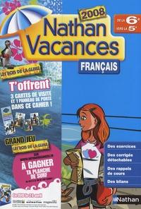 Français de la 6e vers la 5e - Marie-France Sculfort |