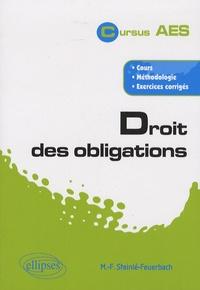 Marie-France Steinlé-Feuerbach - Droit des obligations.