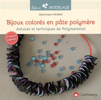 Marie-France Tournat - Bijoux colorés en pâte polymère - Astuces et techniques de Polymeramoi.