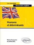 Marie-Françoise Alamichel - Pronoms et déterminants.