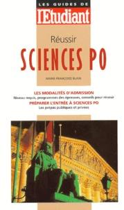 Marie-Françoise Blain - Réussir Sciences po.