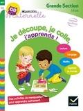 Marie-Françoise Mornet et Maud Lienard - Je découpe, je colle, j'apprends ! Grande Section - 5-6 ans.