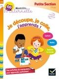 Marie-Françoise Mornet et Christine Ponchon - Je découpe, je colle, j'apprends ! Petite section - 3-4 ans.