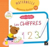 Marie-Françoise Mornet et Marie Morey - Livre ardoise Les chiffres Maternelle moyenne section - Avec un feutre effaçable.