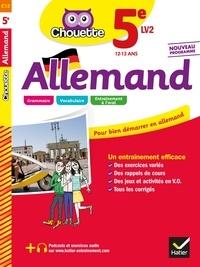 Marie-Gabrielle Guillot et Caroline Le Berre - Allemand 5e - LV2 (A1 vers A2) - cahier d'entraînement et de révision.