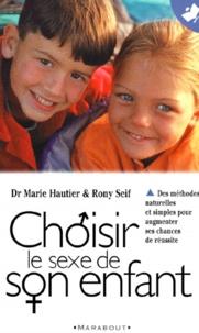 Marie Hautier - Choisir le sexe de son enfant.