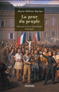 Marie-Hélène Baylac - La peur du peuple.