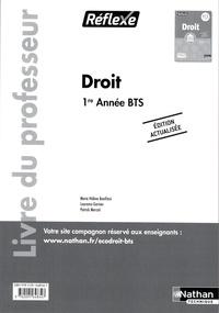 Openwetlab.it Droit BTS 1re année BTS Réflexe - Livre du professeur Image