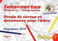 Marie-Hélène Calmes et Géraldine Willems - Histoire-Géographie 5e - Fonds de cartes et documents pour l'élève.