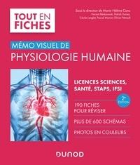 Marie-Hélène Canu et Vincent Bérézowski - Mémo visuel de physiologie humaine - 2e éd..