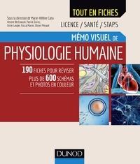 Marie-Hélène Canu et Vincent Bérézowski - Mémo visuel de physiologie humaine.