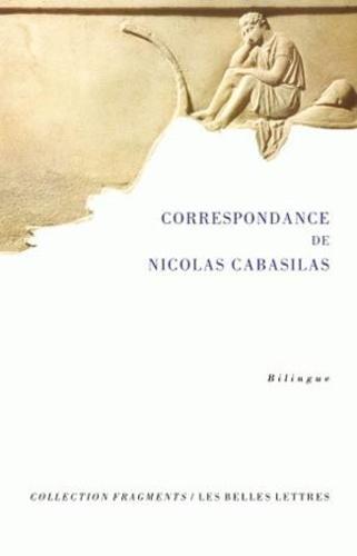 Marie-Hélène Congourdeau - Correspondance de Nicolas Cabasilas.