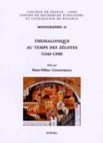Marie-Hélène Congourdeau - Thessalonique au temps des Zélotes (1342-1350) - Actes de la table ronde organisée dans le cadre du 22e Congrès international des études byzantines, à Sofia, le 25 août 2011.