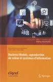 Marie-Hélène Delmond et Alain Keravel - Business Models, coproduction de valeur et systèmes d'information.