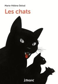 Marie-Hélène Delval - Les chats.