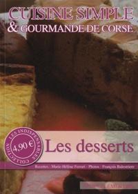 Deedr.fr Cuisine simple & gourmande de Corse - Les desserts Image