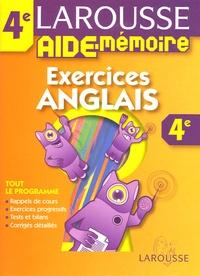 Exercices Anglais 4e - Marie-Hélène Grange |