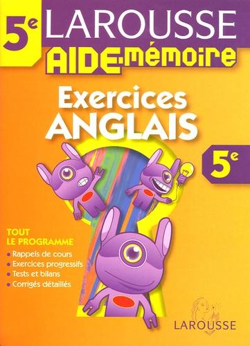 Marie-Hélène Grange - Exercices Anglais 5e.