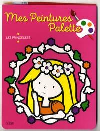 Deedr.fr Mes peintures palette - Les princesses, avec un pinceau Image