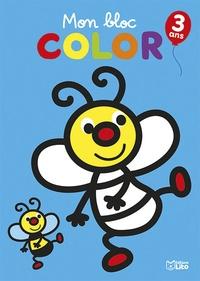 Marie-Hélène Grégoire - Mon bloc color L'abeille.