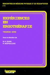 Expériences en ergothérapie - 13e série.pdf