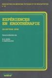 Marie-Hélène Izard - Expériences en ergothérapie - 17e série.
