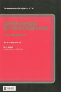 Marie-Hélène Izard - Expériences en ergothérapie - 23e série.