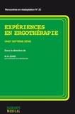 Marie-Hélène Izard - Expériences en ergothérapie - Vingt-septième série.