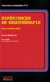 Marie-Hélène Izard - Expériences en ergothérapie - 28e série.