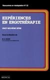 Marie-Hélène Izard - Expériences en ergothérapie - Vingt-neuvième série.