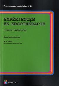 Marie-Hélène Izard - Expériences en ergothérapie - Trente et unième série.