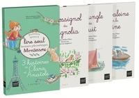 Marie-Hélène Place et Jean-Luc Englebert - 3 histoires de Clara et Anatole - Coffret en 3 volumes : Le rossignol du magnolia ; La jungle de nuit ; Une baleine sur la Seine.