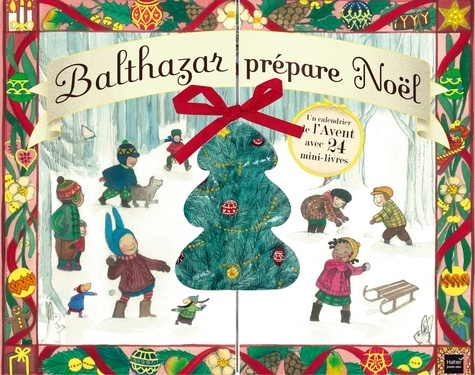 Balthazar prépare Noël. Un calendrier de l'Avent avec 24 mini-livres