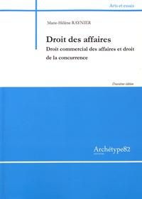 Marie-Hélène Raynier - Droit des affaires - Droit commercial des affaires et droit de la concurrence.