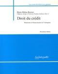 Marie-Hélène Raynier - Droit du crédit - Paiements et financements de l'entreprise.