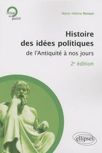 Marie-Hélène Renaut - Histoire des idées politiques de l'Antiquité à nos jours.