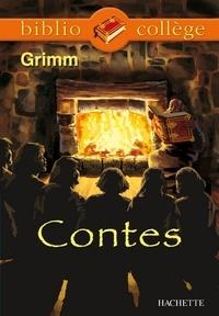 Marie-Hélène Robinot-Bichet et  Frères Grimm - Bibliocollège - Contes, Grimm.
