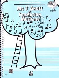 Téléchargement gratuit de livres audio pour mobile Ma 3e année de formation musicale