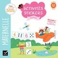 Marie-Hélène Van Tilbeurgh - Activités stickers chiffres - Maternelle Moyenne Section 4-5 ans.