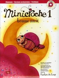 Marie Henchoz et Lee Maddeford - Minicroche 1 - Bonne nuit. 1 CD audio