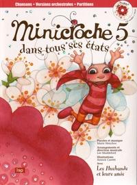 Marie Henchoz et Lee Maddeford - Minicroche 5 dans tous ses états. 1 CD audio