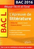 Marie-Henriette Bru - L'épreuve de littérature BAC L 2016 - Oedipe Roi, Sophocle/Pasolini ; Madame Bovary, Gustave Flaubert.